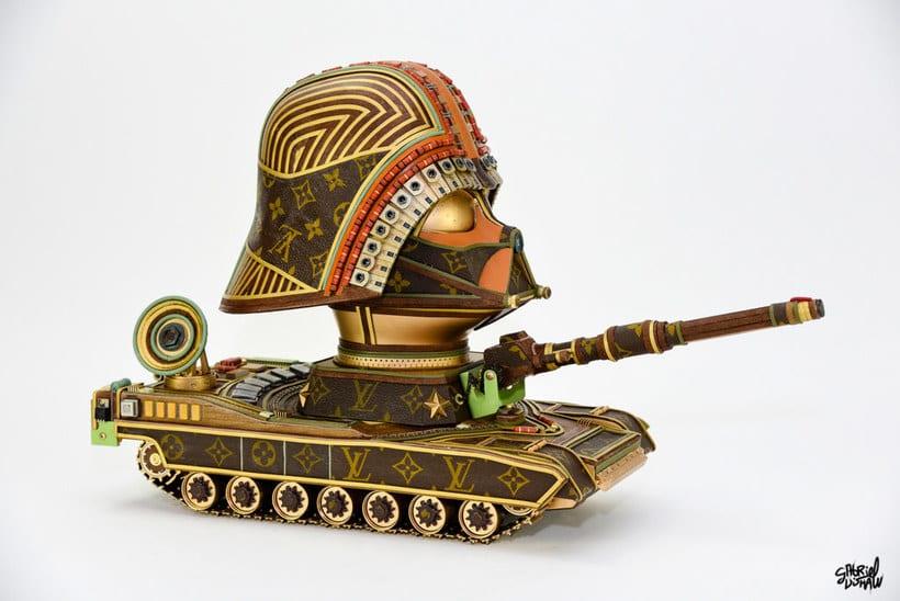 Star Wars y el 'junk art' de lujo 1