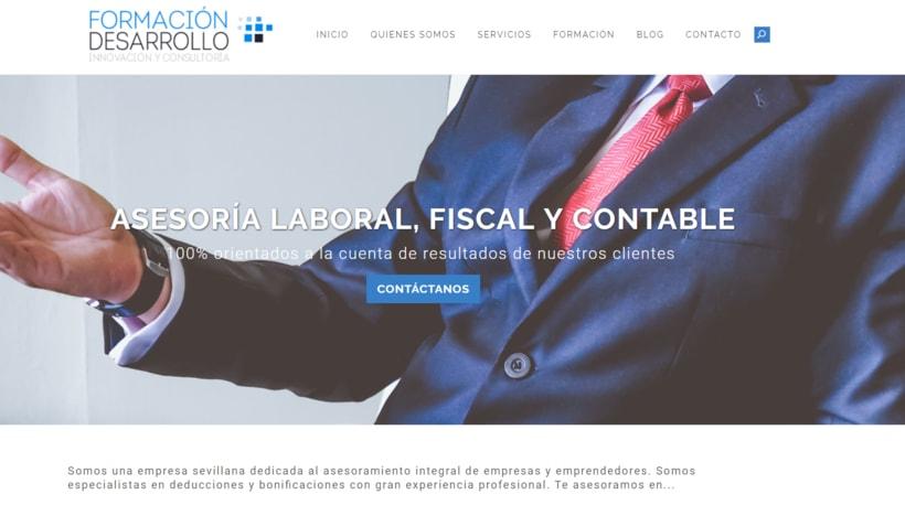 Diseño Web - Fordes, Asesoría & Formación 0