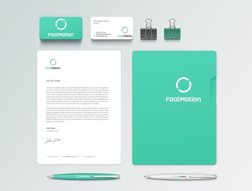 Identidad Corporativa y Diseño Web - Footmotion 5