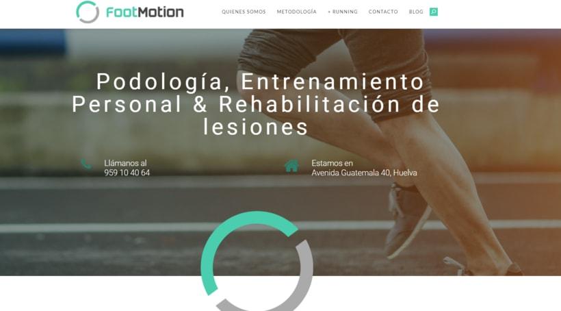 Identidad Corporativa y Diseño Web - Footmotion 6