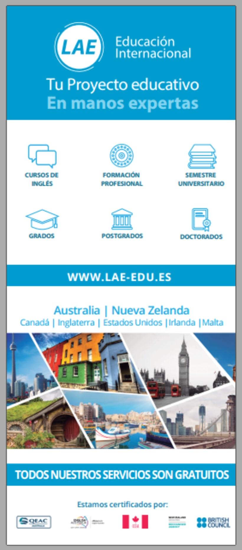 Diseño de material gráfico - LAE España -1