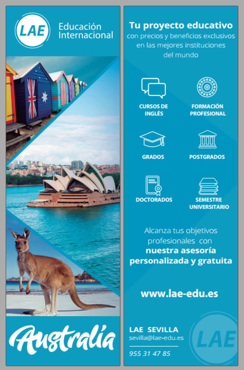 Diseño de material gráfico - LAE España 1