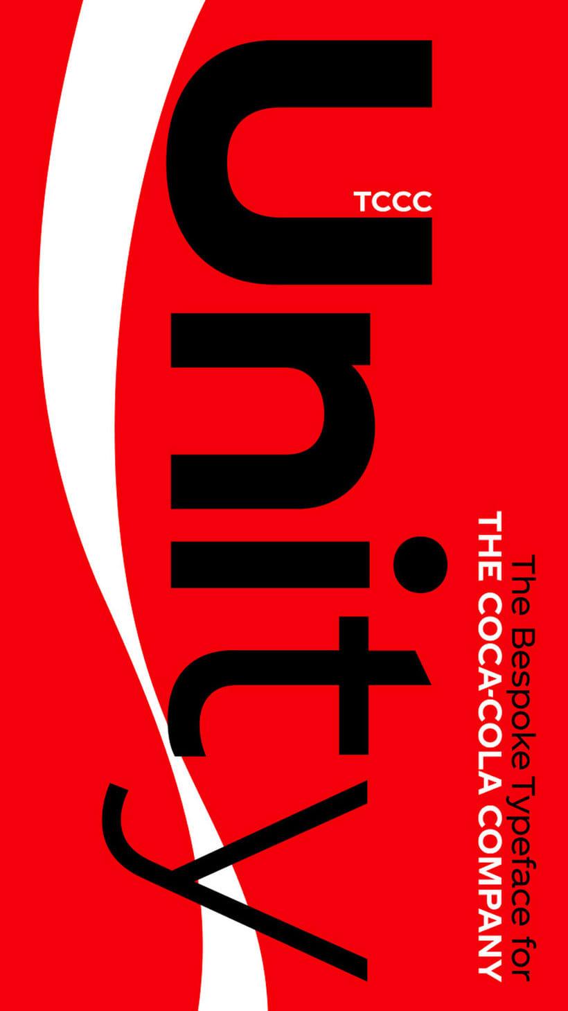 Coca-Cola ya tiene su propia tipografía 1