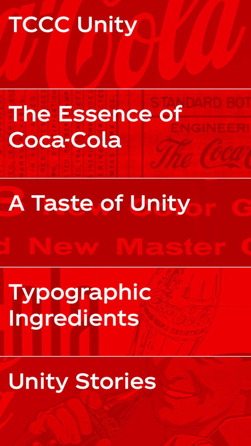 Coca-Cola ya tiene su propia tipografía 8