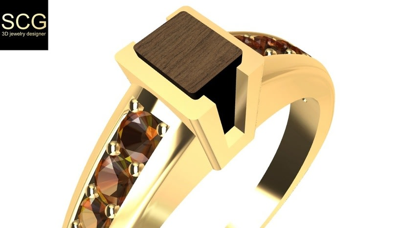 Gems, wood and gold... -1