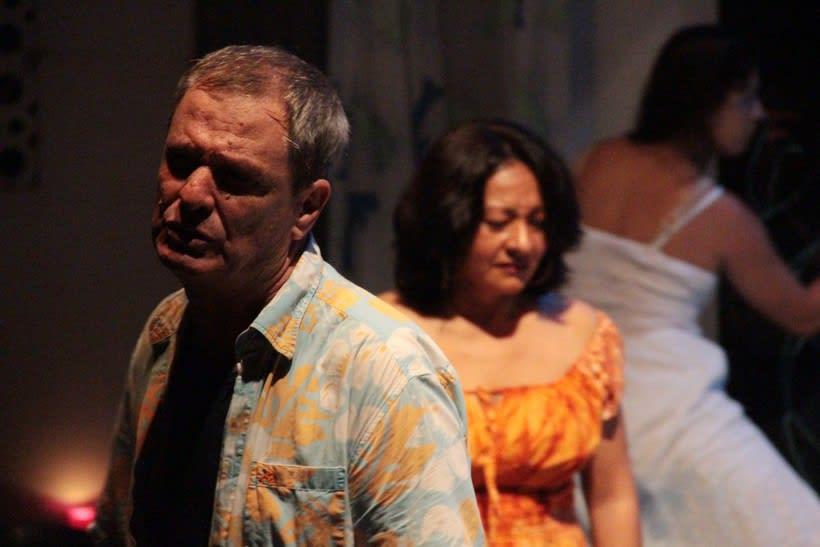 Registro fotográfico de la obra de teatro Culebra de agua / Enrique Caballero Vela / Actor de teatro mexicano 0