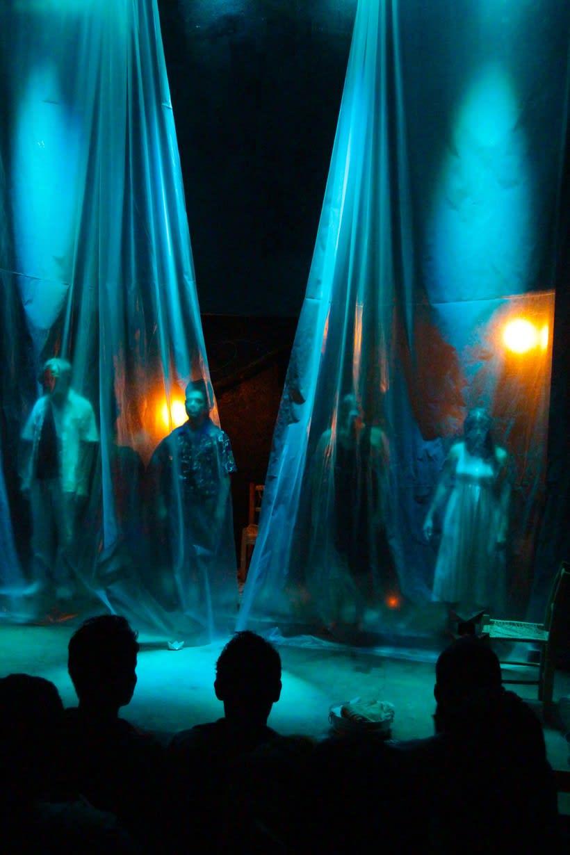 Registro fotográfico de la obra de teatro Culebra de agua / Enrique Caballero Vela / Actor de teatro mexicano 2