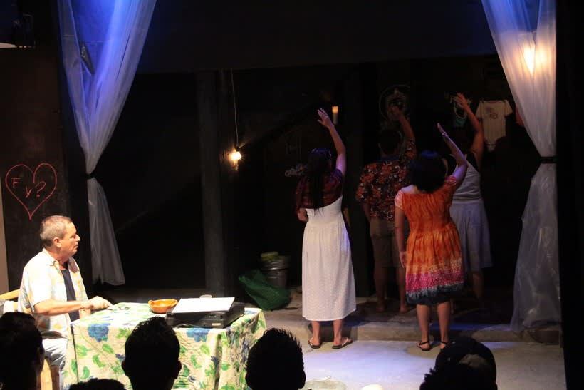 Registro fotográfico de la obra de teatro Culebra de agua / Enrique Caballero Vela / Actor de teatro mexicano 3