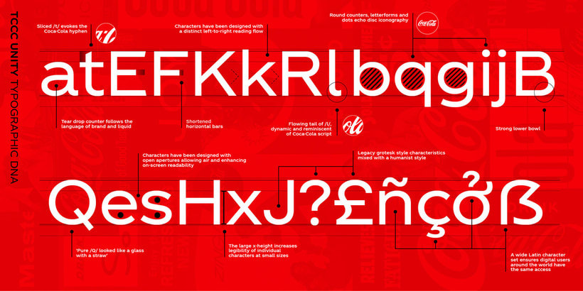 Coca-Cola ya tiene su propia tipografía 3