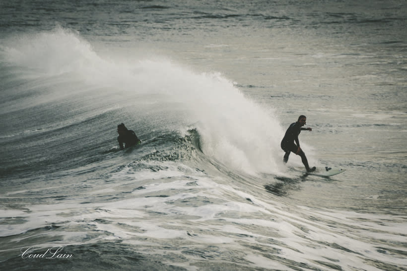 02/01/2018 - Surf en la playa de San Lorenzo de Gijón, Asturias 0