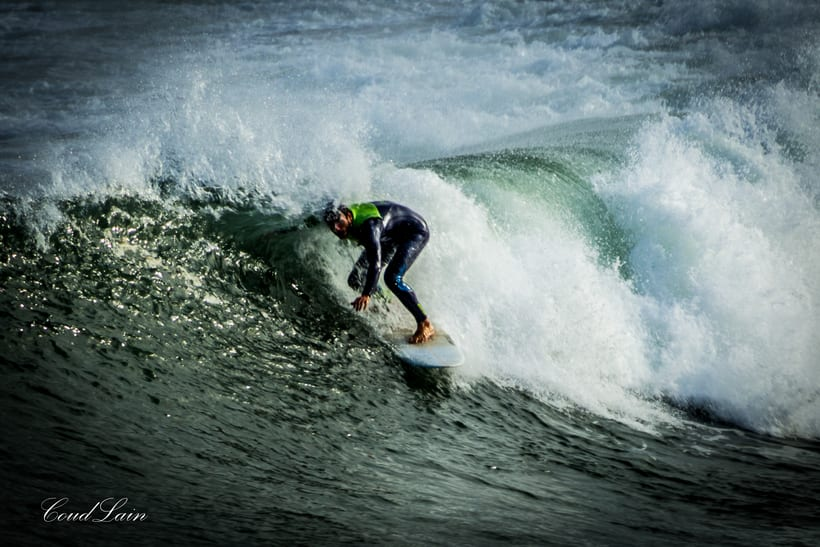 02/01/2018 - Surf en la playa de San Lorenzo de Gijón, Asturias 2