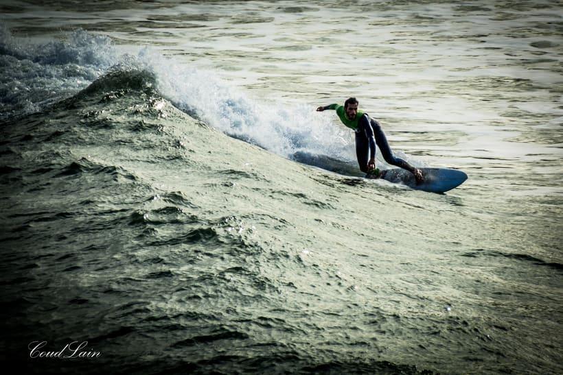 02/01/2018 - Surf en la playa de San Lorenzo de Gijón, Asturias 5