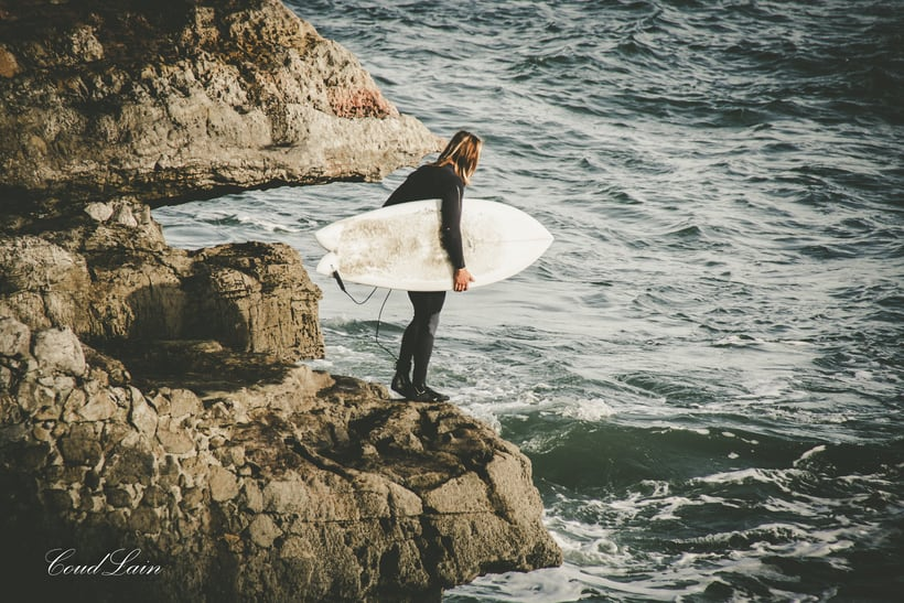 02/01/2018 - Surf en la playa de San Lorenzo de Gijón, Asturias 7