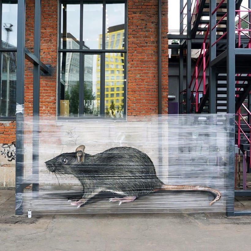 Cellograff o cómo llevar el arte urbano al campo 1