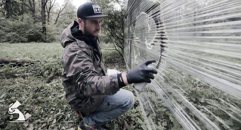 Cellograff o cómo llevar el arte urbano al campo 3