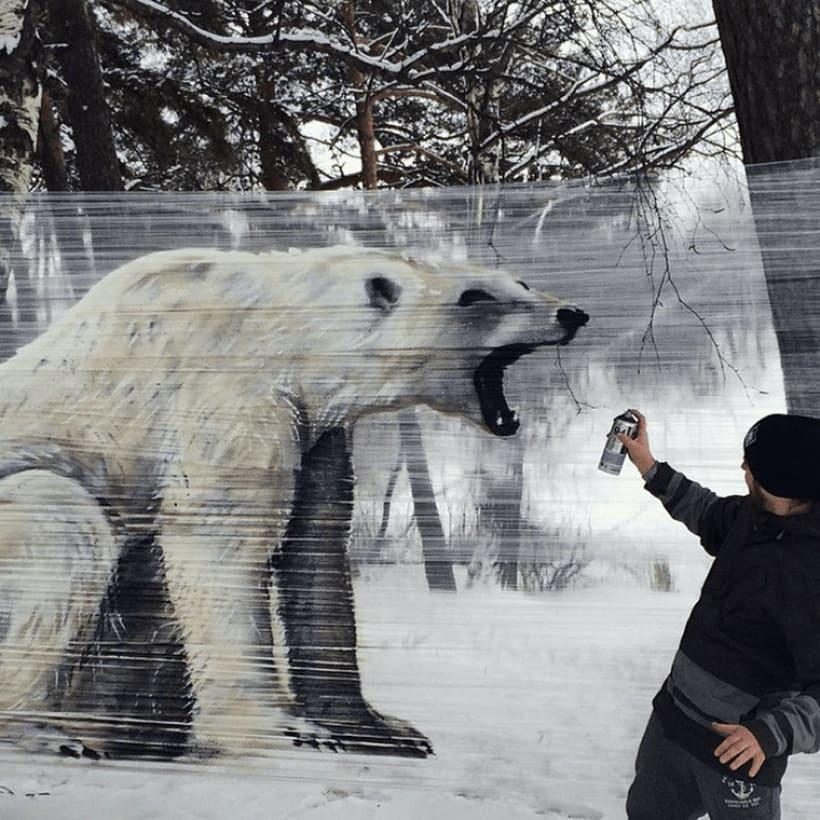 Cellograff o cómo llevar el arte urbano al campo 5