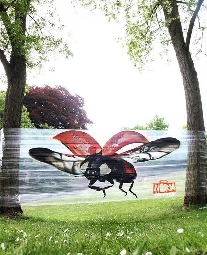 Cellograff o cómo llevar el arte urbano al campo 7