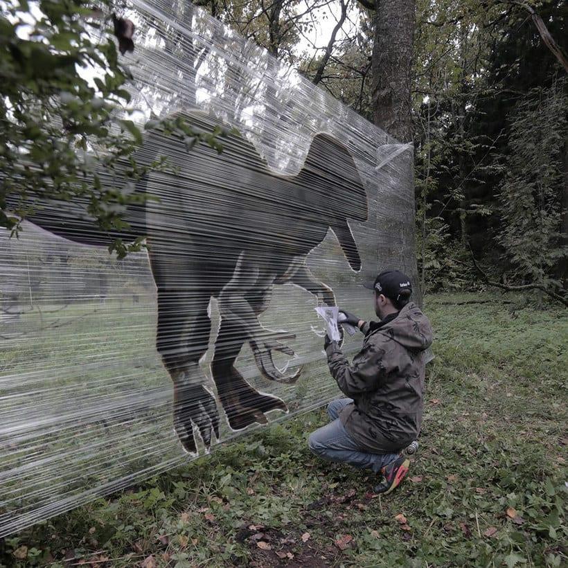 Cellograff o cómo llevar el arte urbano al campo 9