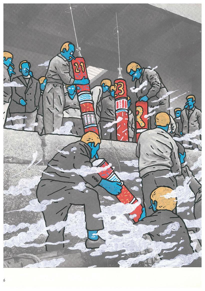 Las divertidas ilustraciones de Marc Marín 12