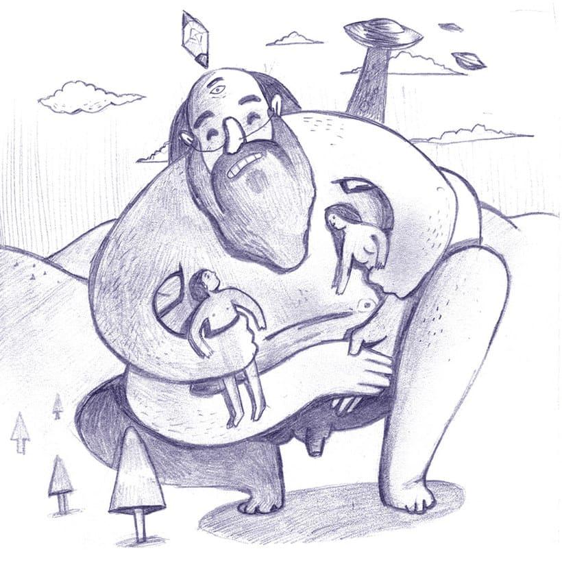 Las divertidas ilustraciones de Marc Marín 14