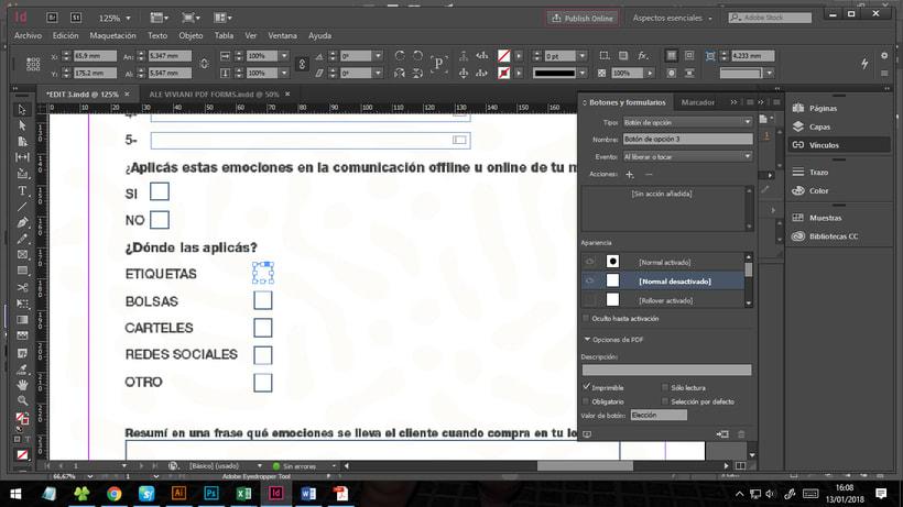Problemas con Adobe InDesign - Formularios 1