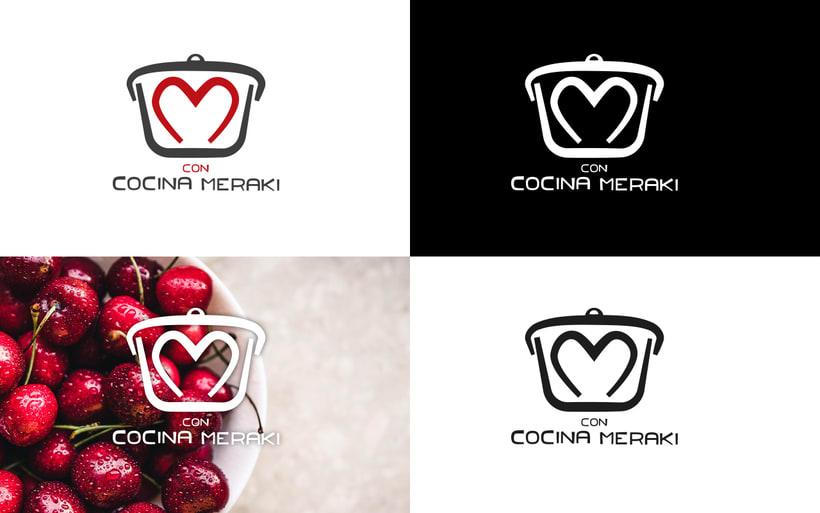 Branding · Cocina con meraki 3