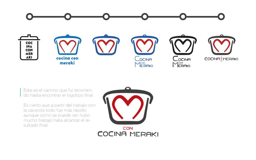 Branding · Cocina con meraki 5