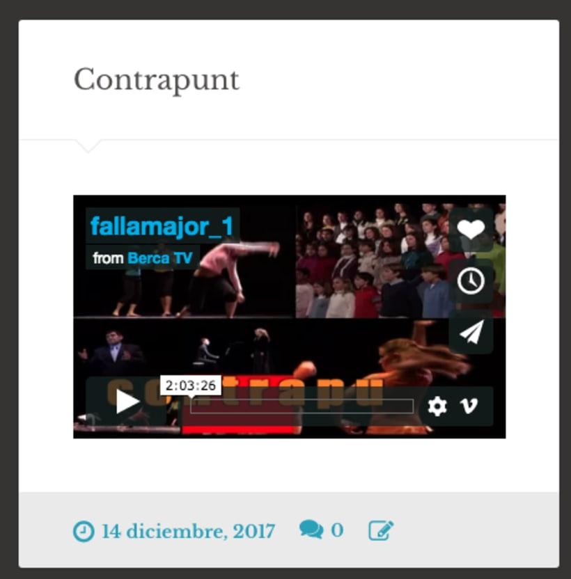 ver miniatura de video vimeo o youtube en wordpress | Aplicaciones ...
