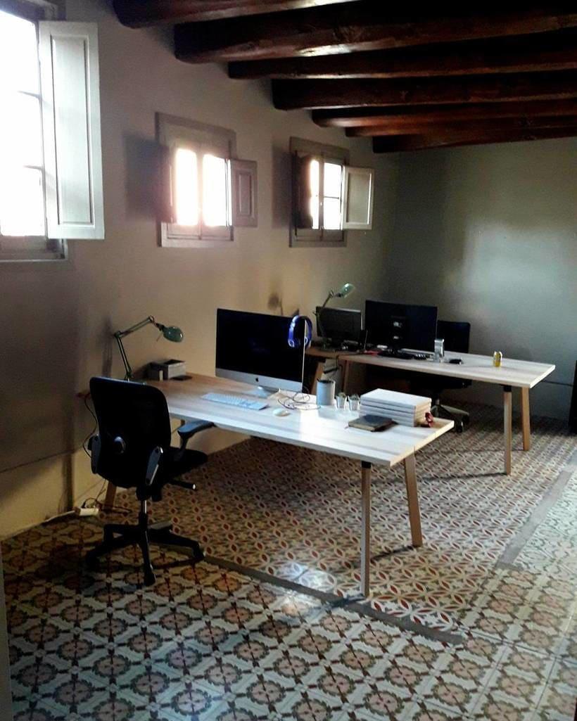 Estudio de diseño comparte espacio de trabajo en el centro de Barcelona. 1