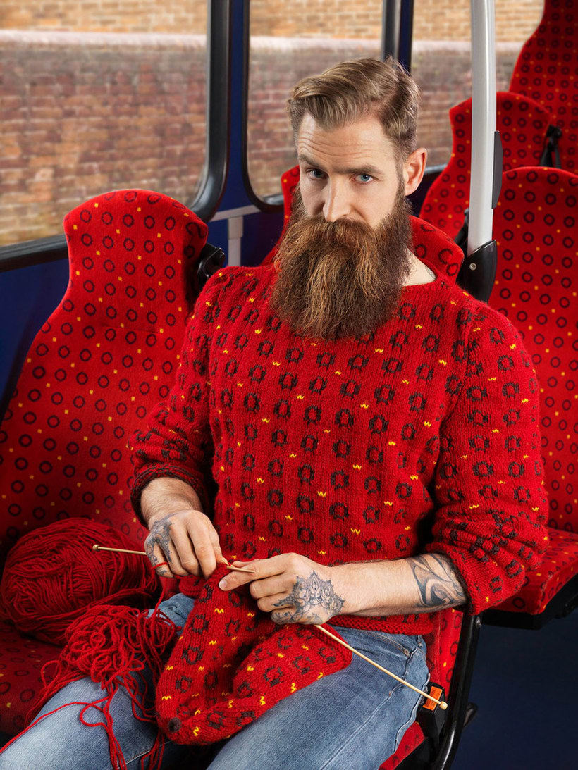 Knitted Camouflage: mimetismo urbano 1