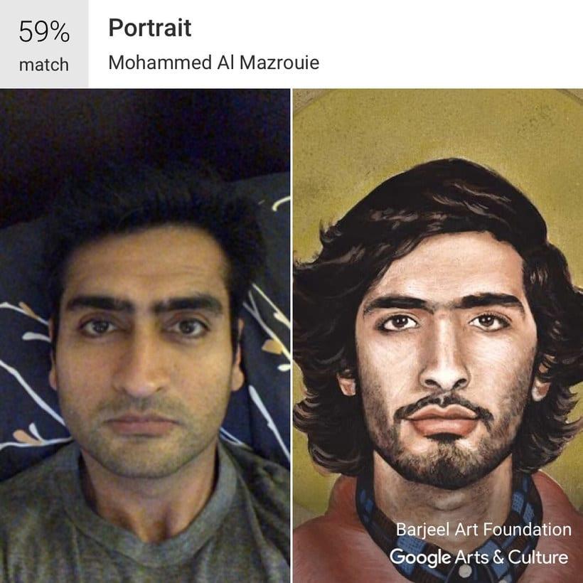 Google encuentra tu doppelgänger artístico con un selfie 1