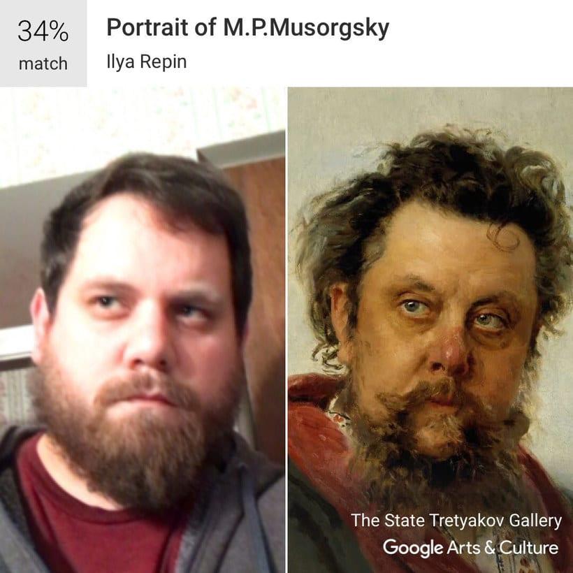 Google encuentra tu doppelgänger artístico con un selfie 3