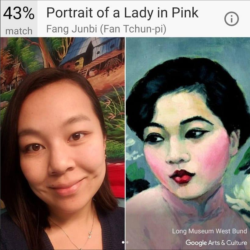 Google encuentra tu doppelgänger artístico con un selfie 4