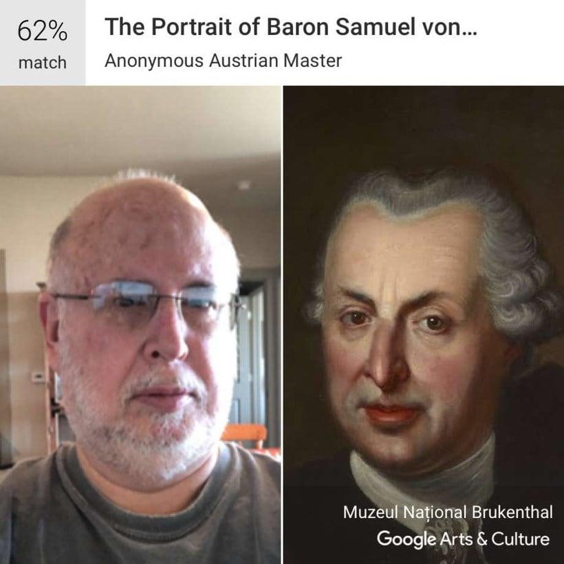 Google encuentra tu doppelgänger artístico con un selfie 5