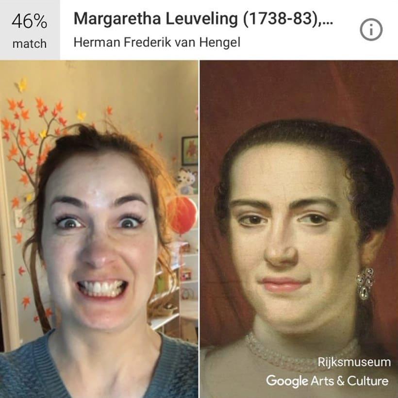 Google encuentra tu doppelgänger artístico con un selfie 6