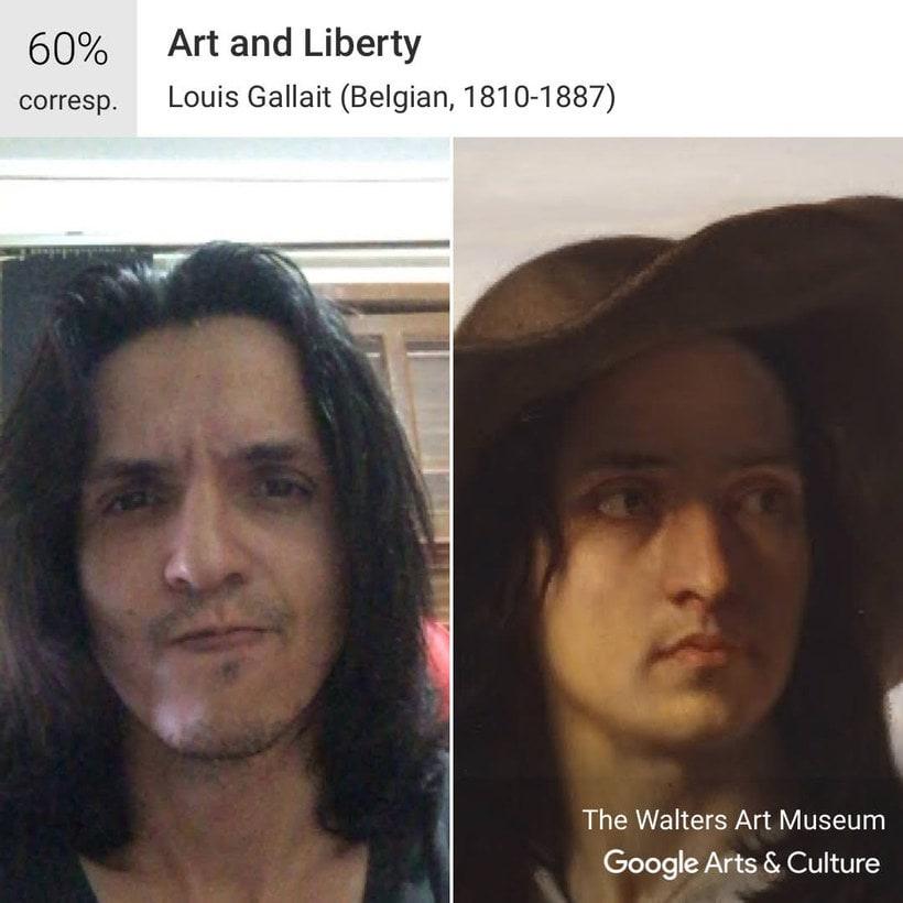 Google encuentra tu doppelgänger artístico con un selfie 7