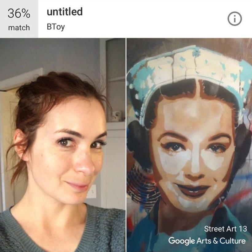 Google encuentra tu doppelgänger artístico con un selfie 9