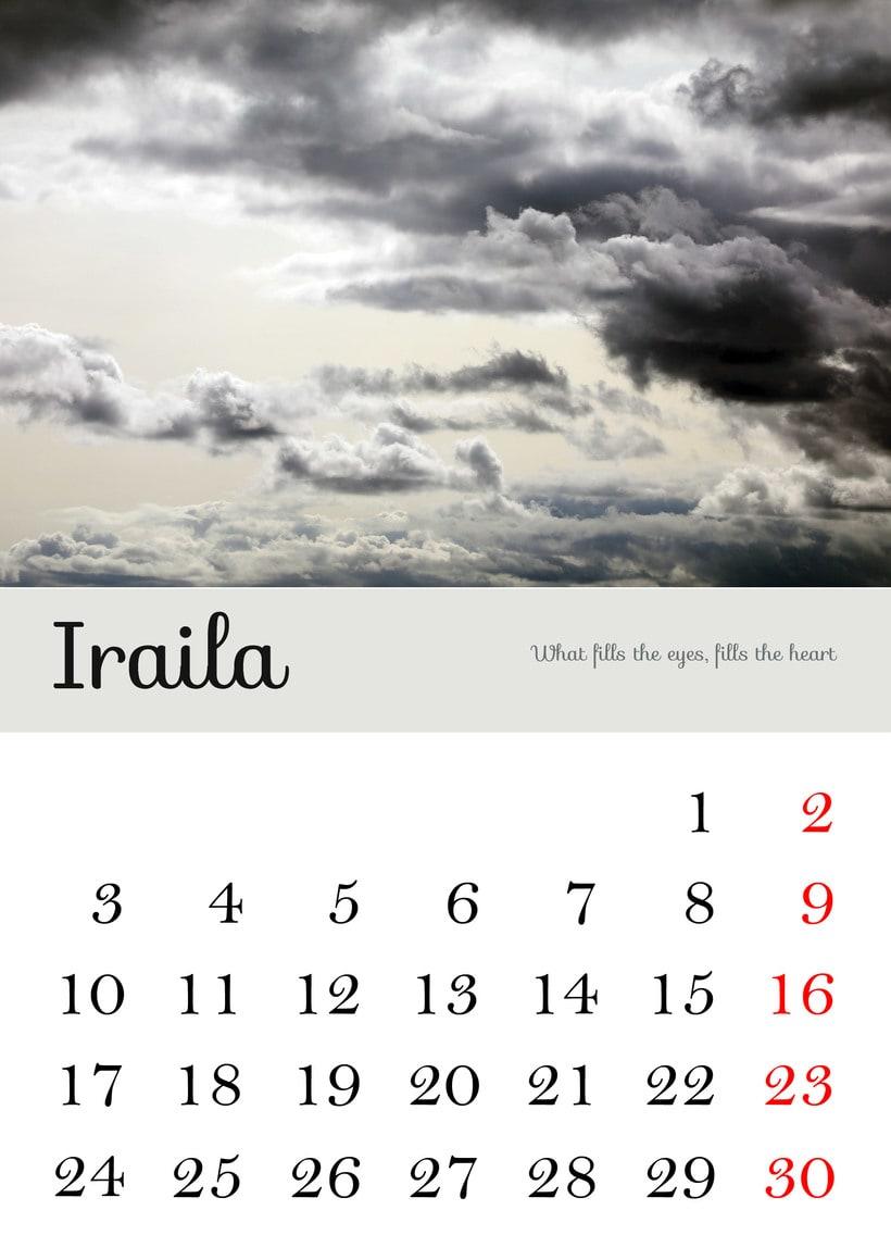 Calendario 2018 8