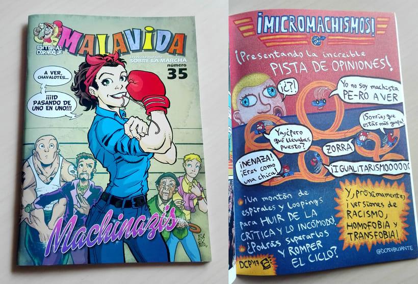 Colaboraciones en fanzines (2015-actualidad) 14