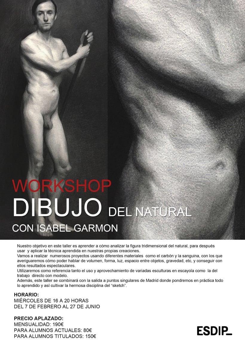 Workshop de Dibujo del Natural 1