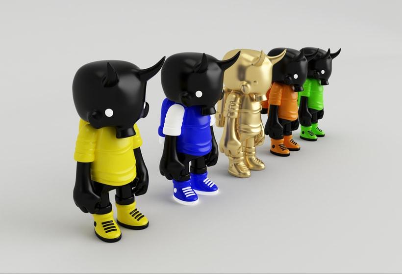 Mi Proyecto del curso: Diseño de personajes en Cinema 4D: del boceto a la impresión 3D. 14