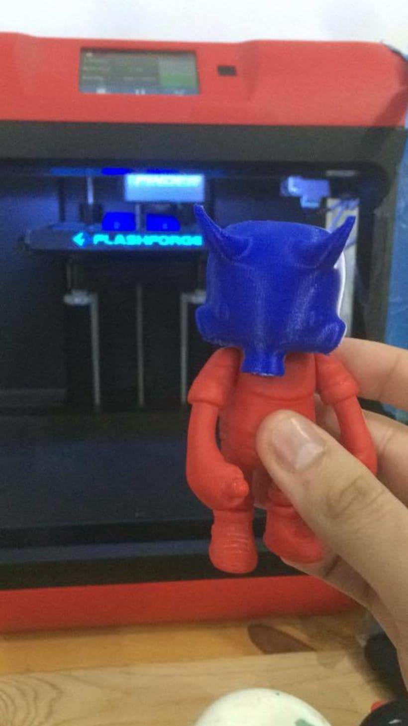 Mi Proyecto del curso: Diseño de personajes en Cinema 4D: del boceto a la impresión 3D. 17