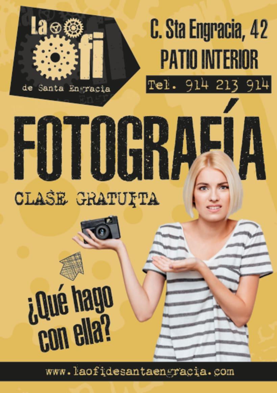 Clase Fotografía Gratis!! 1
