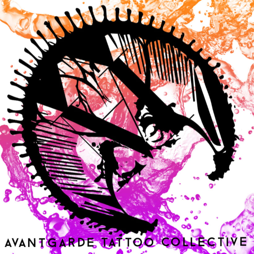 Logo Avantgarde Tattoo Collection  1