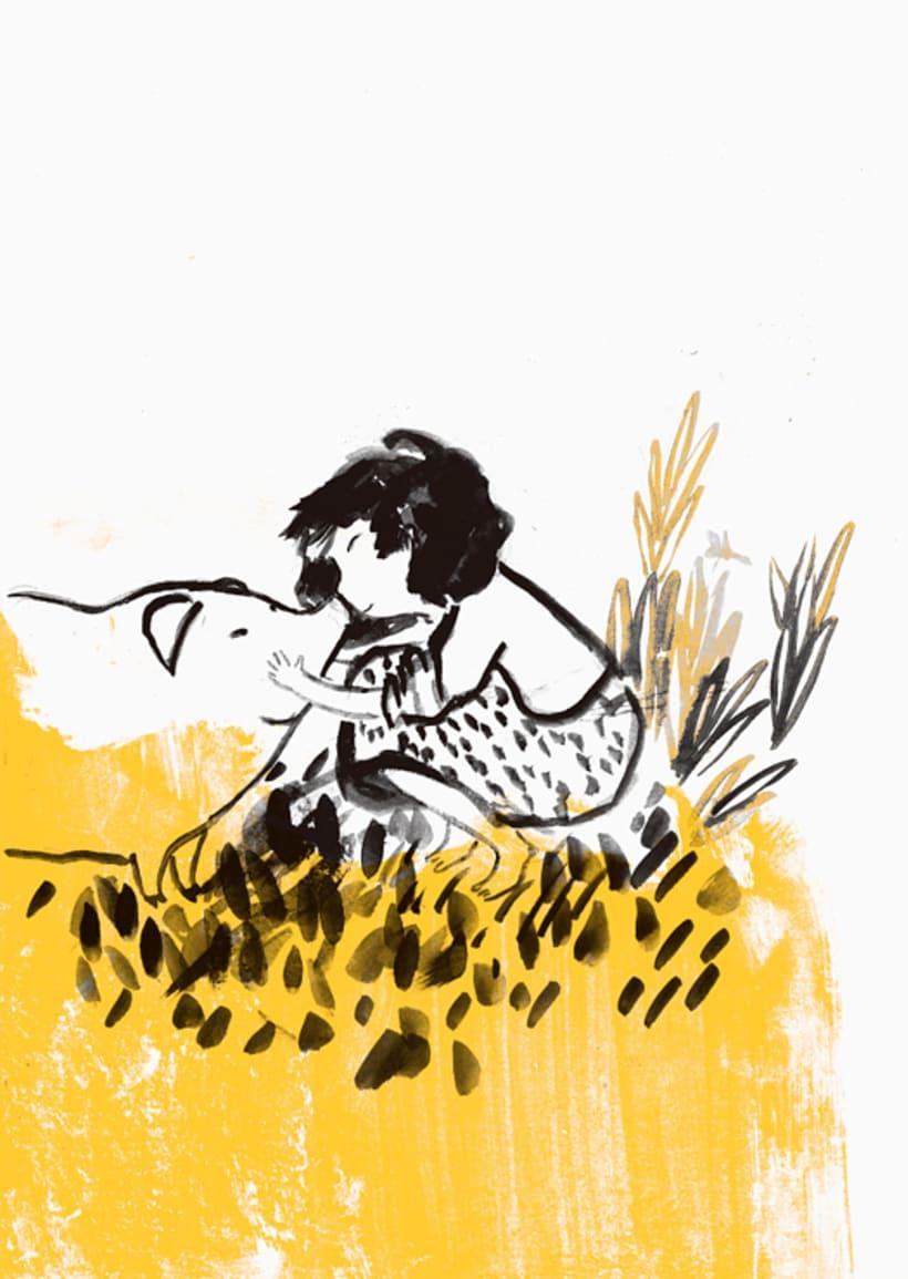 Piara. Ilustraciones y diseño. 22