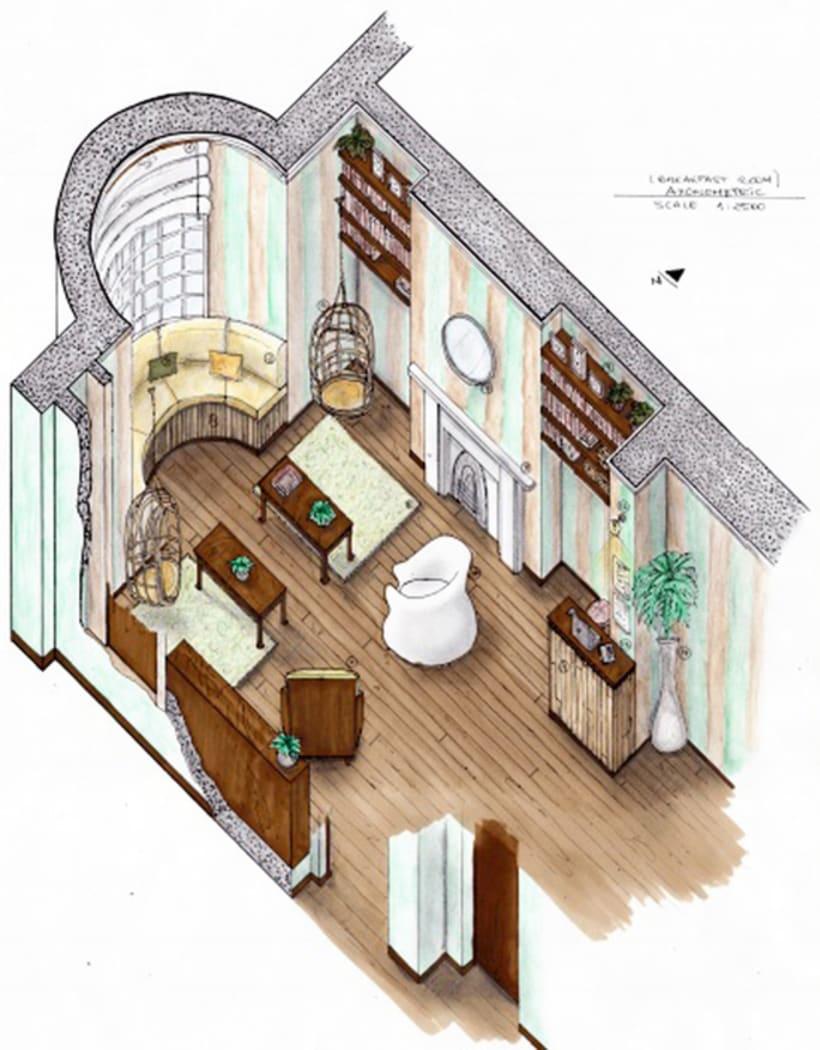Mi proyecto en iniciaci n al dise o de interiores course - Proyecto diseno de interiores ...