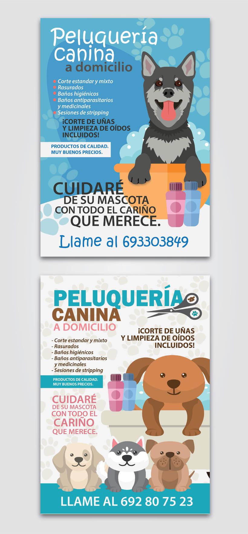 [FLYERS] Peluquería Canina -1