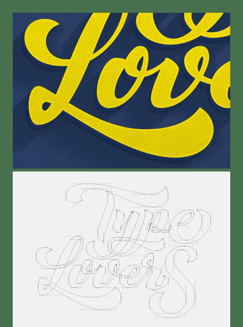 Mi Proyecto del curso: Los secretos dorados del lettering 4