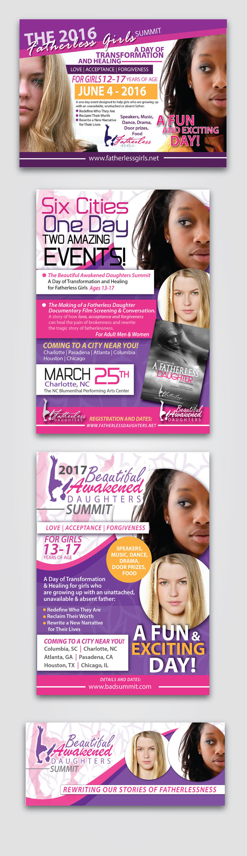 [FLYERS & BANNERS] Angela Carr Patterson  -1