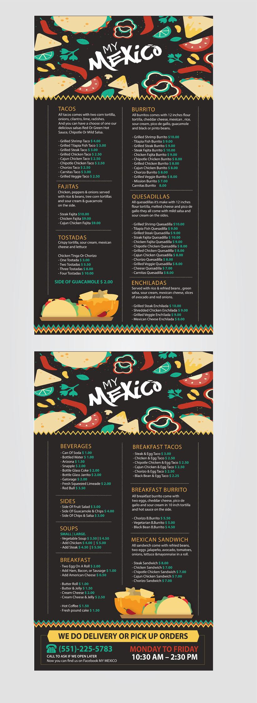 [MENU] CPA PRODUCCIONES - MY MEXICO -1
